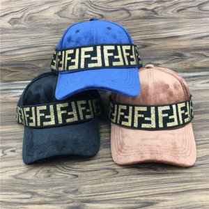 Wholesale F Letter Caps Unisex Baseball Hat Printing Double F Outdoors Sunshade Sun Hats Japanese alphabet printing Cap GGA1939
