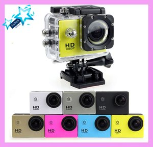 Wholesale 2019 Full HD P Action Digital SJ4000 Sport Camera Inch Screen Under Waterproof M DV Recording Mini Ski Bicycle Photo Video Cam
