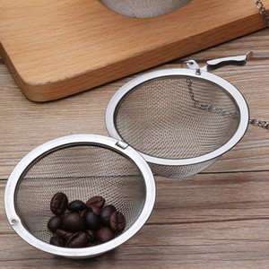 Tea Pot Infuser 5cm Stainless Steel Tea Balls Infuser Coffee Filter Baskets Sphere Mesh Tea Strainer Ball With DHL Shipping