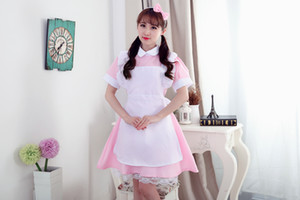Wholesale Alice In Wonderland Party Cosplay Costume Anime Sissy Maid Uniform Sweet Lolita Dress Halloween Costumes For Women