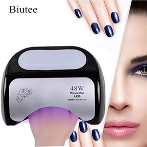 Wholesale 48w ccfl nail lamp for sale - Group buy Biutee w Nail Dryer Polish Machine Ccfl Uv Lamp Led Nail Lamp For Gel Nail Polish Art Automatic Hand Sensor SH190726
