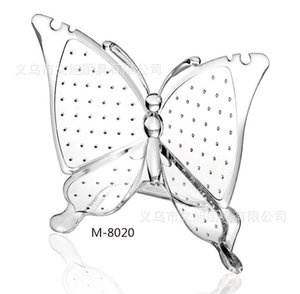 M - 8020 Square Accept Box Butterfly Earrings Accept Frame Cosmetics Accept Box Jewelry Jewelry Frame