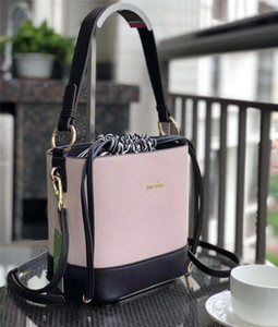 KS Bucket Bag Letters Print Handbags Meeting Totes Women Lady Knapsack Travel Party Belt Shoudler Bags Fashion Elegant Bag Pink New B72403