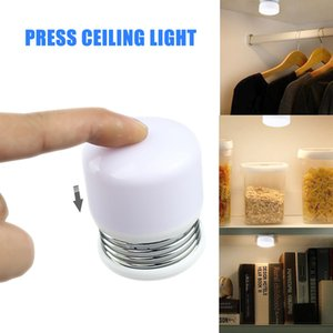 Wholesale Cross border explosion spring press night light decompression lamp magnet can absorb portable lamp bed feeding desk small table lamp