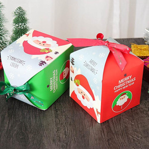 Wholesale pack safe for sale - Group buy Christmas Eve Gift Box Christmas Child Gift Safe Fruit Tray Apple Candy Pack Color XD22457