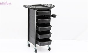 Wholesale EU tax free New Beauty Salon Trolley hair Spa Styling Station Equipment Rolling Storage Tray Cart A139