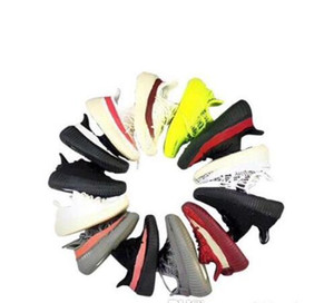 Wholesale Fashion 2019 new Designer Brand Kids Shoes Baby Toddler Run Shoes Kanye West Sport Shoes ChildrenBoys Girls Designer Sneakers