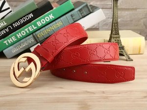 Wholesale Belt Man Genuine Leather Leisure Time Smooth Buckle Cowhide Belt Wide Waist Belt Waistband Fashion Accessories Hot Sale ym07452