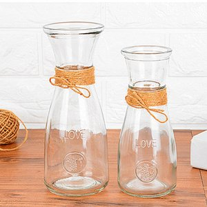 Home Decoration Jewelry Glass Vase Modern Creative Style Crafts Desk Bouquet Flowerpot Wedding Decoration