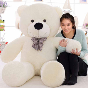 Wholesale 180CM Giant teddy bear huge large big stuffed toys animals plush life size kid children baby dolls lover girl toy Christmas gift
