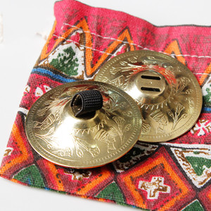 Wholesale Professional ATS Tribal BellyDance Accessories Copper Finger Cymbals Belly Dance Zills