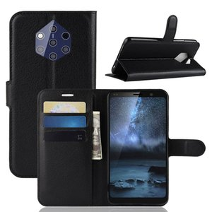 Wholesale Fashion Wallet PU Leather Case Cover For NOKIA PureView Flip Protective Phone Back Shell With Card Holders