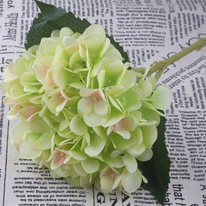 Wholesale Artificial Bouquet Flowers Bridal Hydrangea Wedding DIY Decor Props Gift