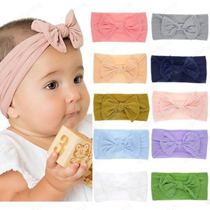 Wholesale Baby headbands doughnut knot bands india Donut headband infant