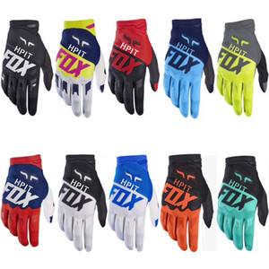 2019 bicycle gloves hpit FOX ATV MTB BMX Off Road Motorcycle Gloves Mountain Bike Bicycle Gloves Motocross Bike Racing