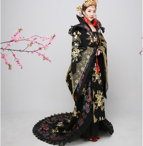 Wholesale Chinese Fairy Dress Oriental Festival Outfit Performance Clothes Female Princess Costume Outfit Luxury Hanfu Women Classical Dance Costume