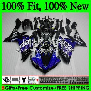 Wholesale Injection Bodys For YAMAHA YZF R Repsol blue YZF YZFR1 GP18 YZF R1 YZF1000 YZF YZF R1 Fairing Bodywork