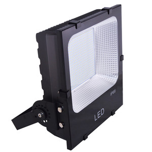 Wholesale wall lighting outdoors for sale - Group buy Hight brightness LED lights W LED Floodlight SMD5730 football court lgihts black body yard lighting yrs outdoor lights
