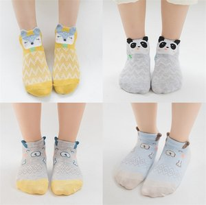 Wholesale 2019 thin spring and summer new cartoon boys and girls boat socks baby cotton socks mesh breathable