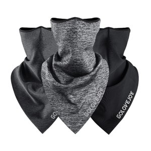 Fleece Cycling Face Mask Scarf Triangle Scarf Bandana Headwear Neck Warmer Breathable Face Cover Ski Fishing Riding Facemask