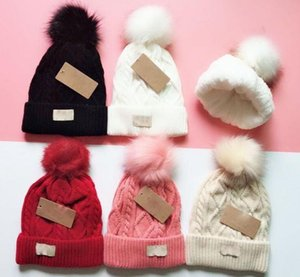 Wholesale Factory price best quality Colors khaki Fashion Women Knitted Caps Inner Fine Hair Warm And Soft Beanies Brand Crochet Hats g