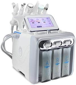 6 in 1 Hydrogen Oxygen Small Bubble Beauty Machine Ultra Micro Hydrogen Oxygen Small Bubble Professional Skin Rejuvenation Machine for Deep