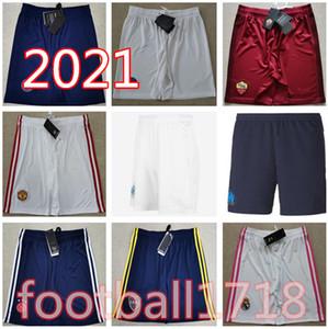 Real Madrid shorts mbappe Paris 2020 Olympique de Marseille Soccer shorts 20 21 Ajax MAHREZ JOAO FELIX Boca Juniors futbol football Pants