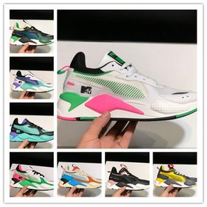 Wholesale Original RS X Reinvention Running Shoes Cool Black White Designer Creepers Dad Des Chaussures Men Women Trainer Sports Sneakers