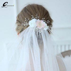 Silver Pearl Wedding Hair Comb For Women Crystal Hair Jewelry Handmade Headpiece Bride Headdress Hair Accessories