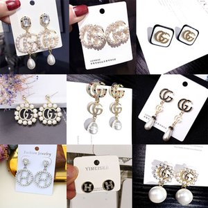 Wholesale Hot sale Luxury Designer Earrings Famous Letter Women Earrings Exquisite Charming Luxury Earring Fashion Jewelry Special Offer
