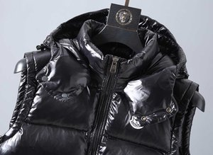 Wholesale Monclers Mens Designer Down Jacket Luxury Designer Hooded Vest FW New High Quality Couple Winter Jacket Brand Thicken Warm Down Jacket
