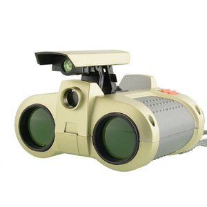 Fashion Binocular Telescope Pop-up Light Night for Vision Scope Binoculars Novelty Children Magnification Toy Gifts Free DHL 473