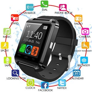 Wholesale Bluetooth Smart Watch U8 Wireless Bluetooth Touch Screen Smart Watch with SIM Card Slot for Android IOS Phone
