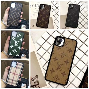 Wholesale New Designer Brand Print Flower Phone Case for IPhone Pro Max X Xs Max Xr s Plus Leather Style Shell Skin Cover A09