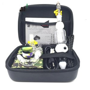 Wholesale Mini Nectar Collector Enail Kit Coil Heater For Wax Temp Control Function Vaporizer E Nail kit DHL Free