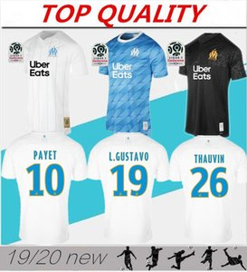 Wholesale Top quality Olympique de Marseille Soccer jersey OM Marseille Maillot De Foot PAYET ANGUISSA GOMIS jerseys Marseille shirts