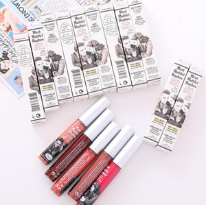 New product waterproof moisturizing classic The Balm ultra matte velvety various colors lip gloss liquid lipstick