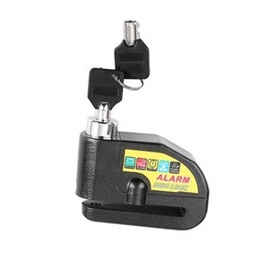 Wholesale-Bicycle Lock Safety Bicycle Alarm Lock Anti-theft Electric Car Motorcycle Disc Brake Alarm Black