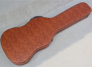 Universal Brown ST TL Electric Guitar Hardcase,Size Logo Color Can Be Customized as Required