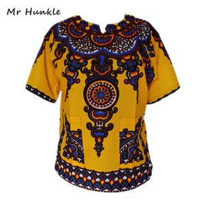 Wholesale Mr Hunkle New Arrival Design African Traditional Print Dress Cotton Dashiki Dresses For Men And Women