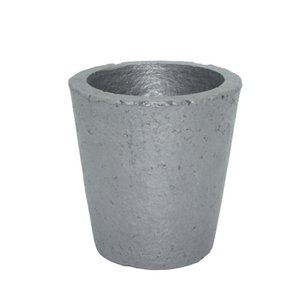 Wholesale Foundry Silicon Carbide Graphite Crucibles Cup Furnace Torch Melting Casting Refining Gold Silver Copper Brass Aluminum