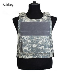 Wholesale Aufdiazy Black Hawk Tactical Vest Outdoor Fishing Sport Protective Equipment Field Hard Training Protective Tactical Vest IM099