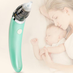 Wholesale nasal aspirator baby for sale - Group buy Baby Nasal Suction Artifact Newborn Nose Machine Infant Electric Suction Device Cleaner Aspirator Soft Silicone Sucker Cleaner Sniffling