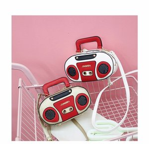 Wholesale Ins cute spring and summer new funny personality bag female diagonal cross shoulder creative funny retro recorder