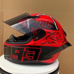 Wholesale Shoei Fourteen 93 Marc Marquez REPLICA HELMET Full Face Motorcycle Helmet off road racing motocross helmet(Replica-Not Original)