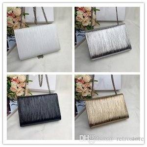 2019 designer classical handbag new silver gold white black fashion women clutch bag real leather totes high quality lady shoulder bags on Sale