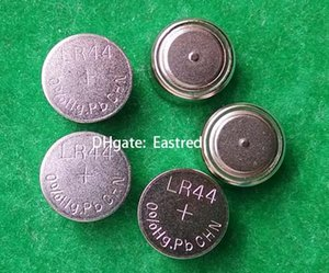 Factory wholesale 3000pcs Lot AG13 LR44 76A 0% Hg Pb Mercury free button cell battery,1.5v coin cells for watches toys LED lights