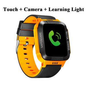 Wholesale Children Smart Watch Camera Lighting Touch Screen SOS Call LBS Tracking Location Finder Kids Baby Smart Watch Christmas Gift