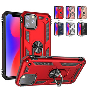 Wholesale Phone case with ring holder for iPhone Pro Max Plus X XR XS MAX Samsung Note10 LG Stylo