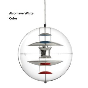 Modern Verpan VP Globe Pendant Lights Acrylic Abajur Dining Room Bedroom hanglamp Bar Hotel GU10 LED luminaire vintage lamp on Sale
